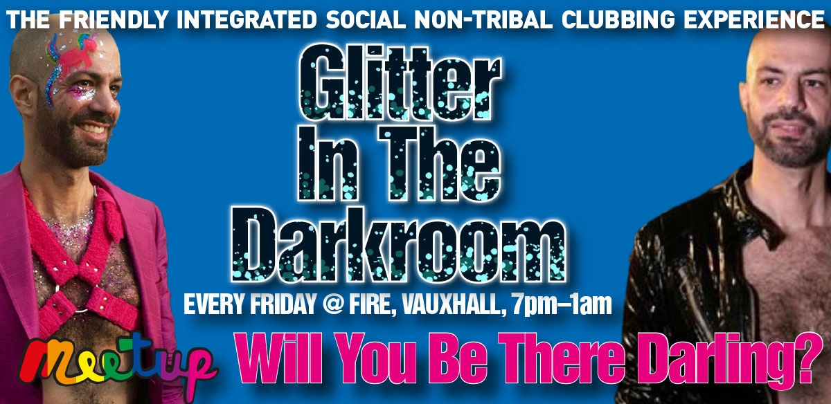 Will You Be There Darling? Glitter In The Darkroom - Friday 8 March tickets