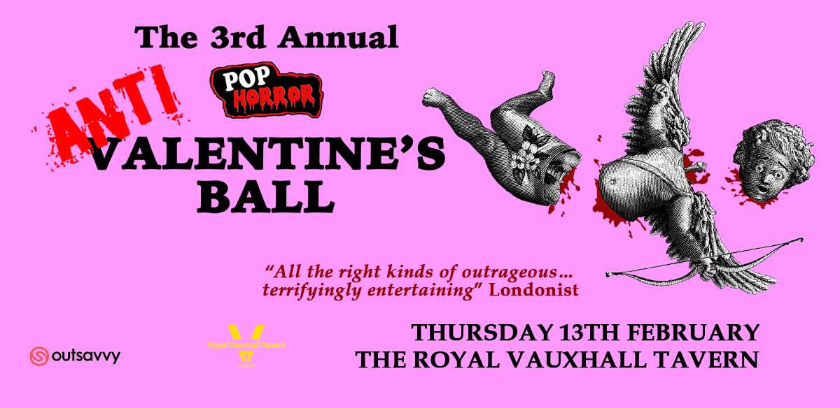 PopHorror's 3rd Annual Anti-Valentine's Ball tickets