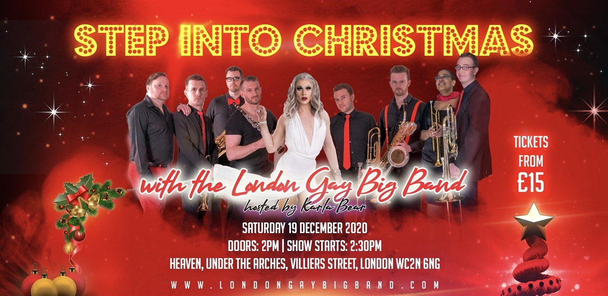 Step into Christmas tickets