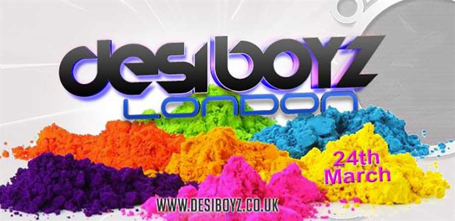 Desi Boyz Neon Holi Night