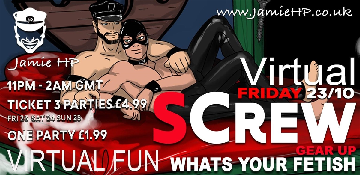 Virtual SCREW  Friday 30/10 tickets