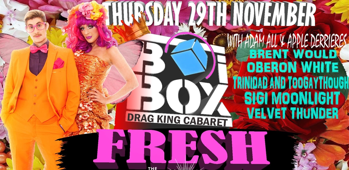 BOiBOX - FRESH tickets