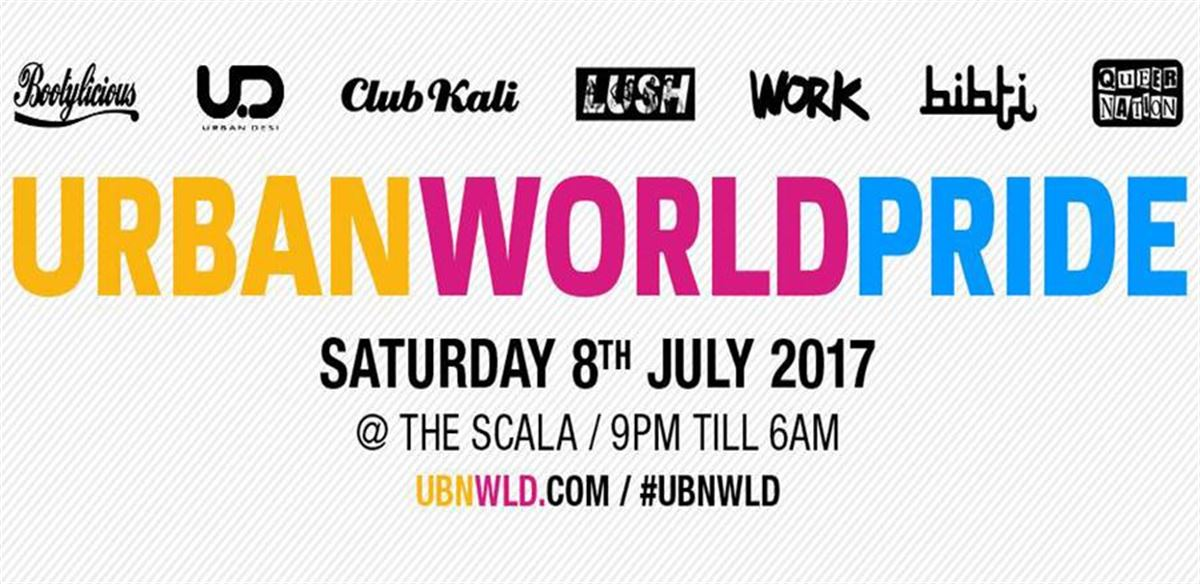 Urban World Pride 2017 tickets