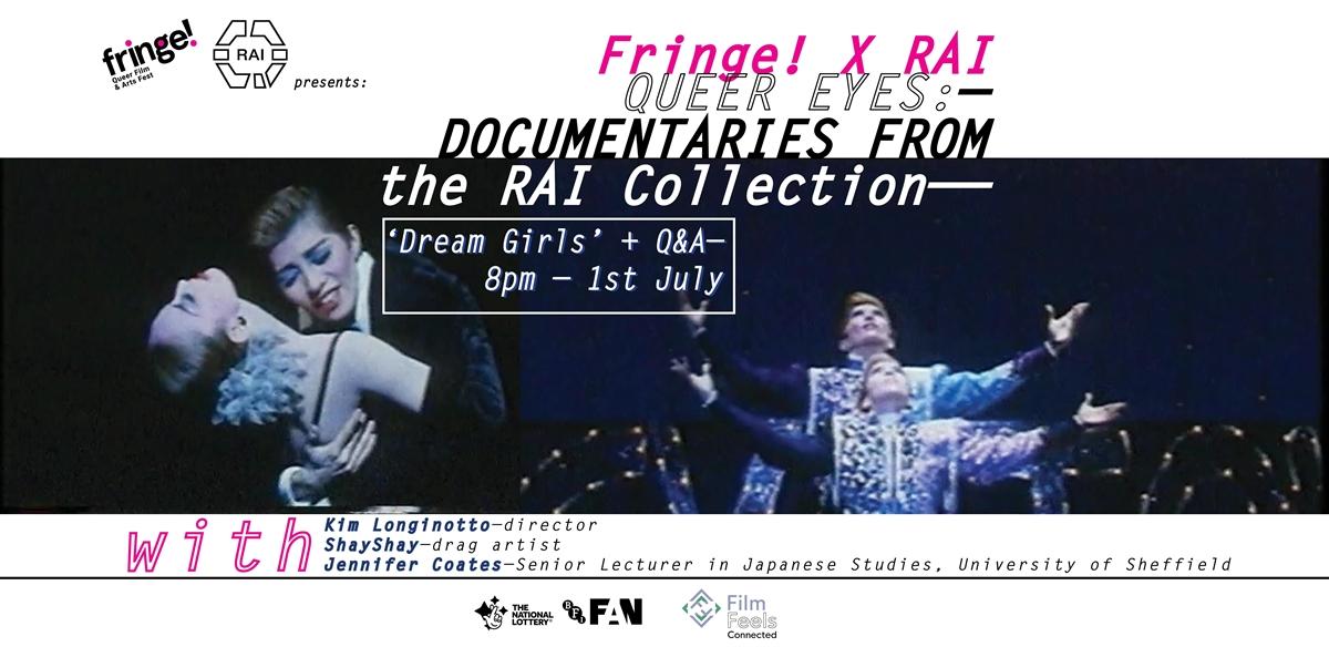 Fringe! x RAI : Queer Eyes – Dream Girls Q&A tickets