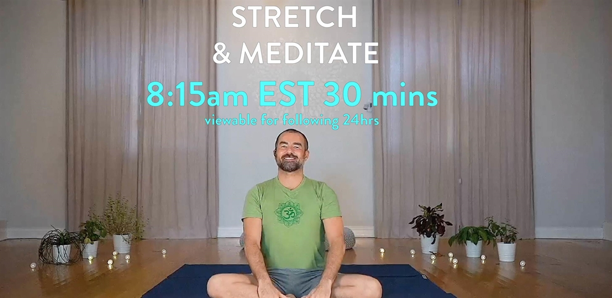 STRETCH & MEDITATE tickets
