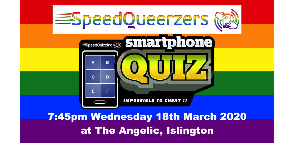 SpeedQueerzers monthly Gay Pub Quiz, Islington tickets
