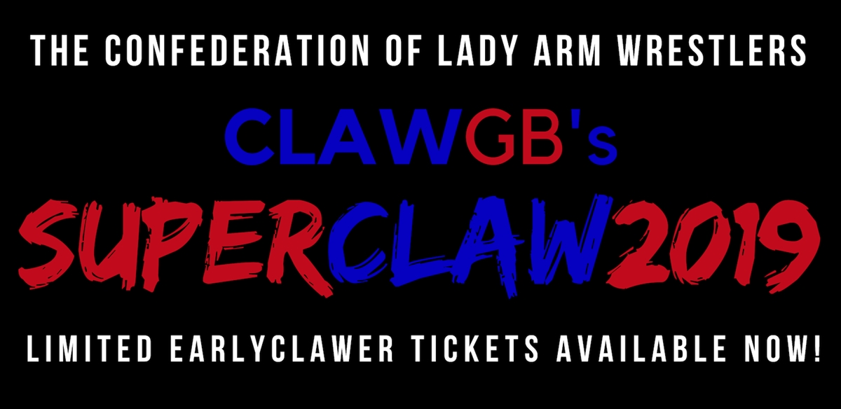 CLAWGB's SUPERCLAW 2019 tickets