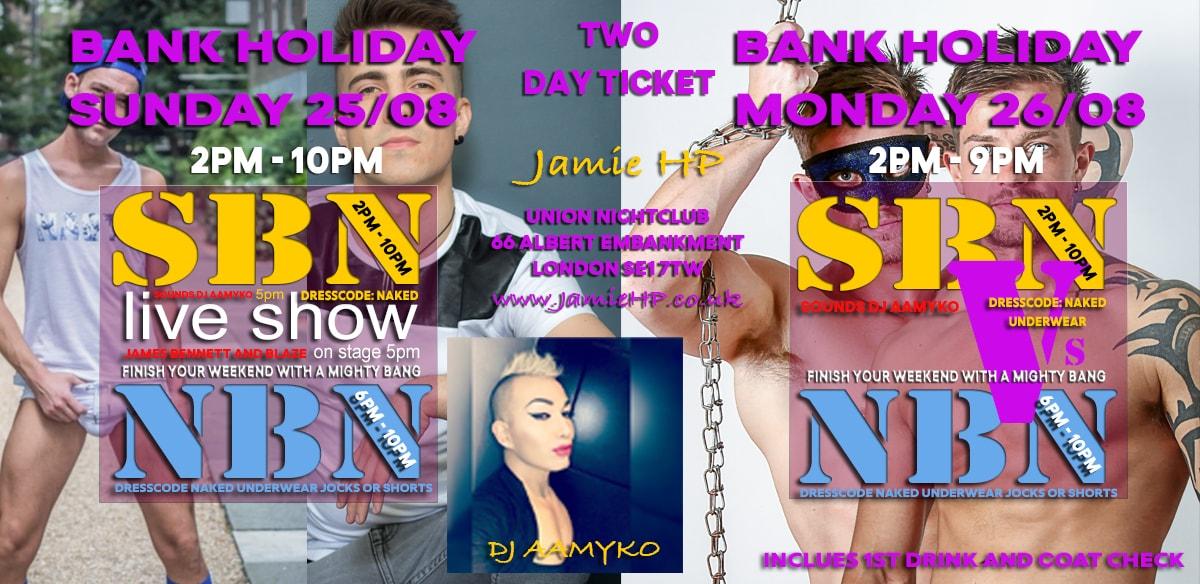 SBN & NBN 2 DAY TICKET tickets