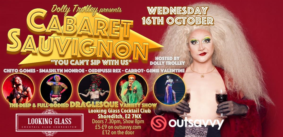 Cabaret Sauvignon: You Can't Sip With Us tickets