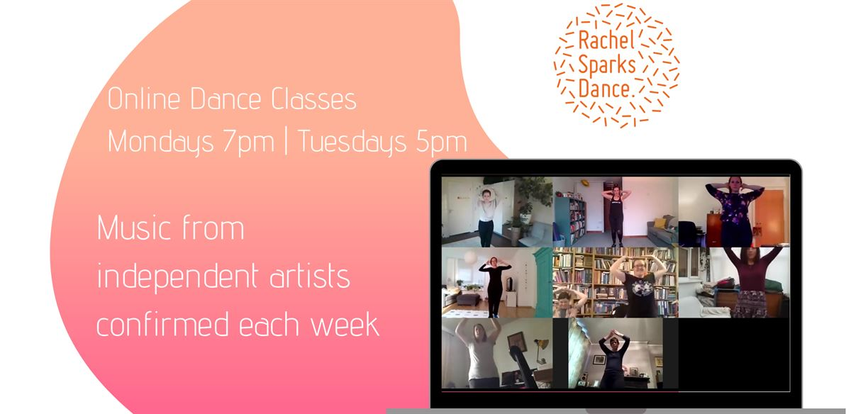 Flow, Stomp, Strut Online Dance Classes [Mon & Tues] tickets