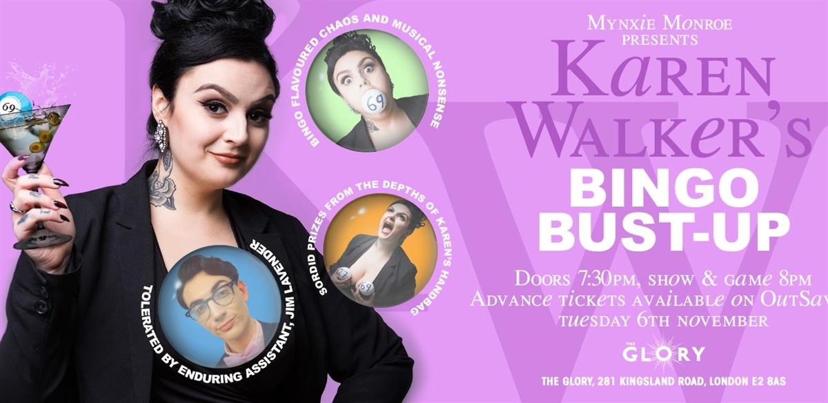 Karen Walker's Bingo Bust-Up! tickets