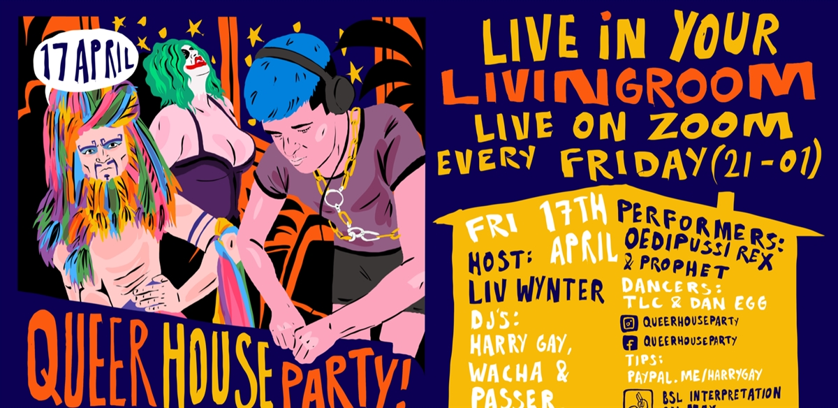 Queer House Party: LIVE in your living room! tickets