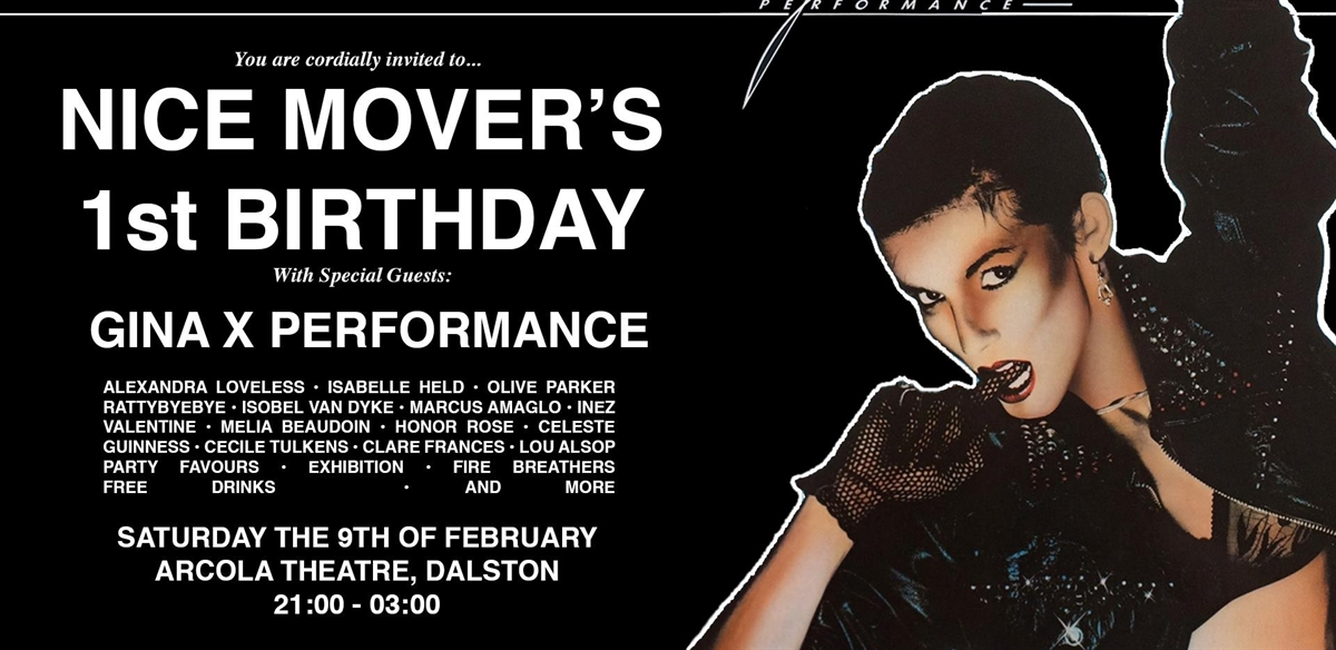 Nice Mover's 1st Birthday ft. Gina X Performance & More tickets