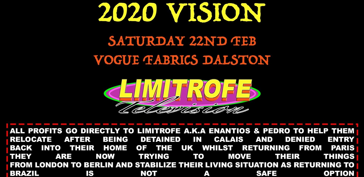 2020 VISION - LIMITROFE FUNDRAISER tickets