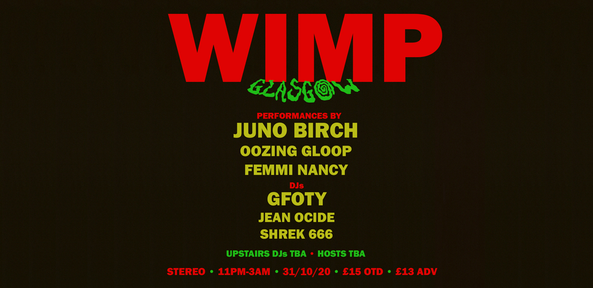 WIMP : GLASGOW tickets