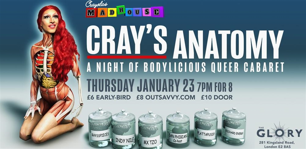 Crayola's Madhouse: CRAY'S ANATOMY tickets