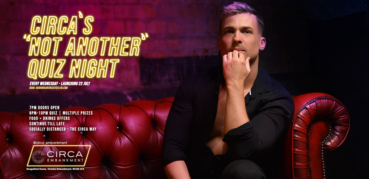 Circa's 'Not Another' Quiz Night - LAUNCH! tickets