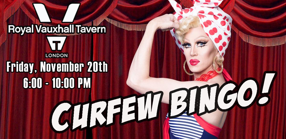 Curfew Bingo tickets