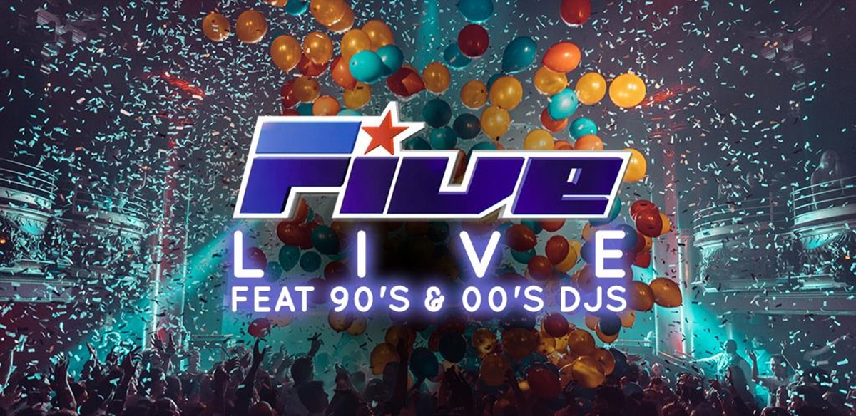 5ive LIVE feat 90's & 00's DJs tickets