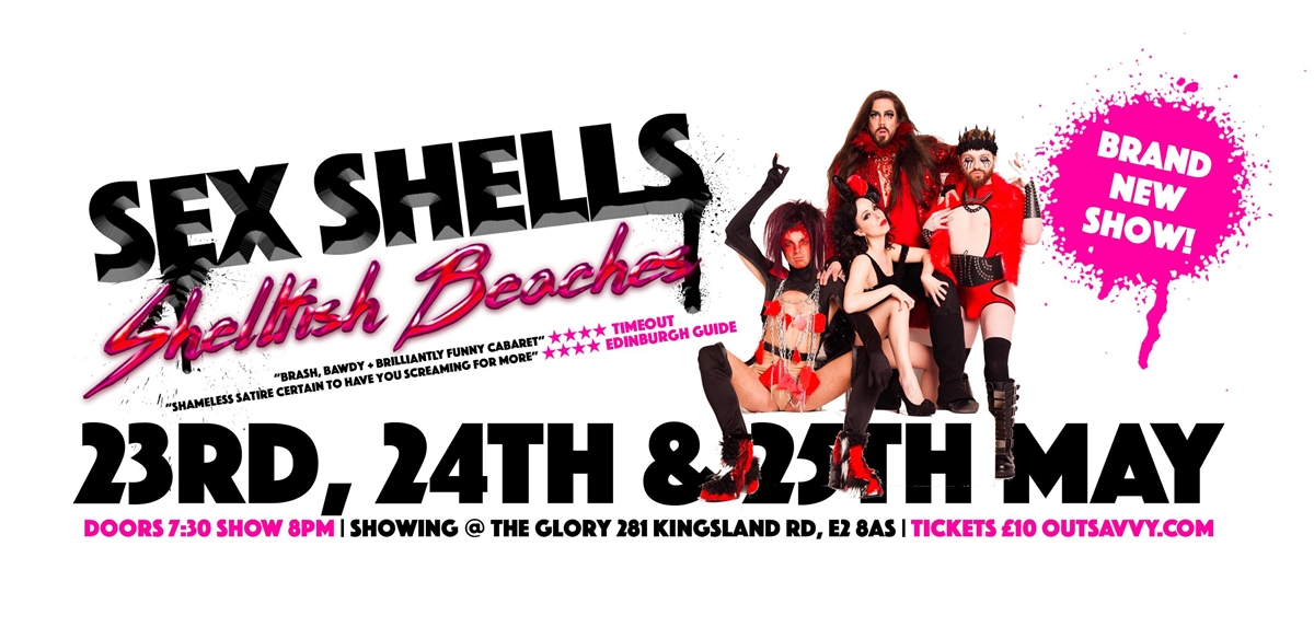SEX SHELLS:  Shellfish Beaches tickets