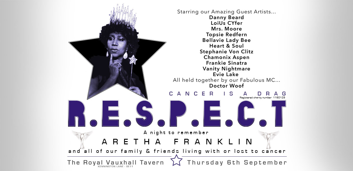 Cancer is a Drag presents... 'R.E.S.P.E.C.T.' tickets