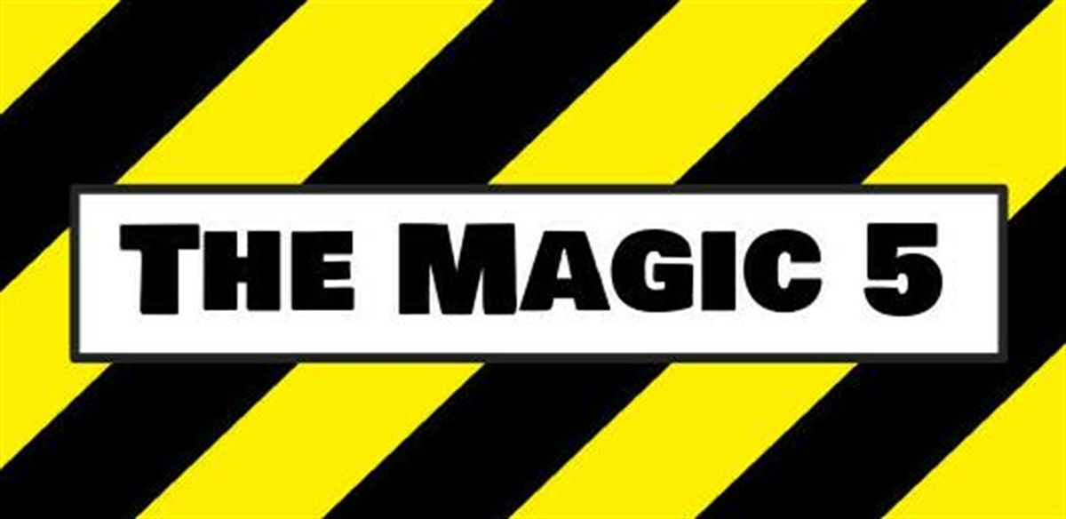 The Magic 5 with DJ Steve James tickets