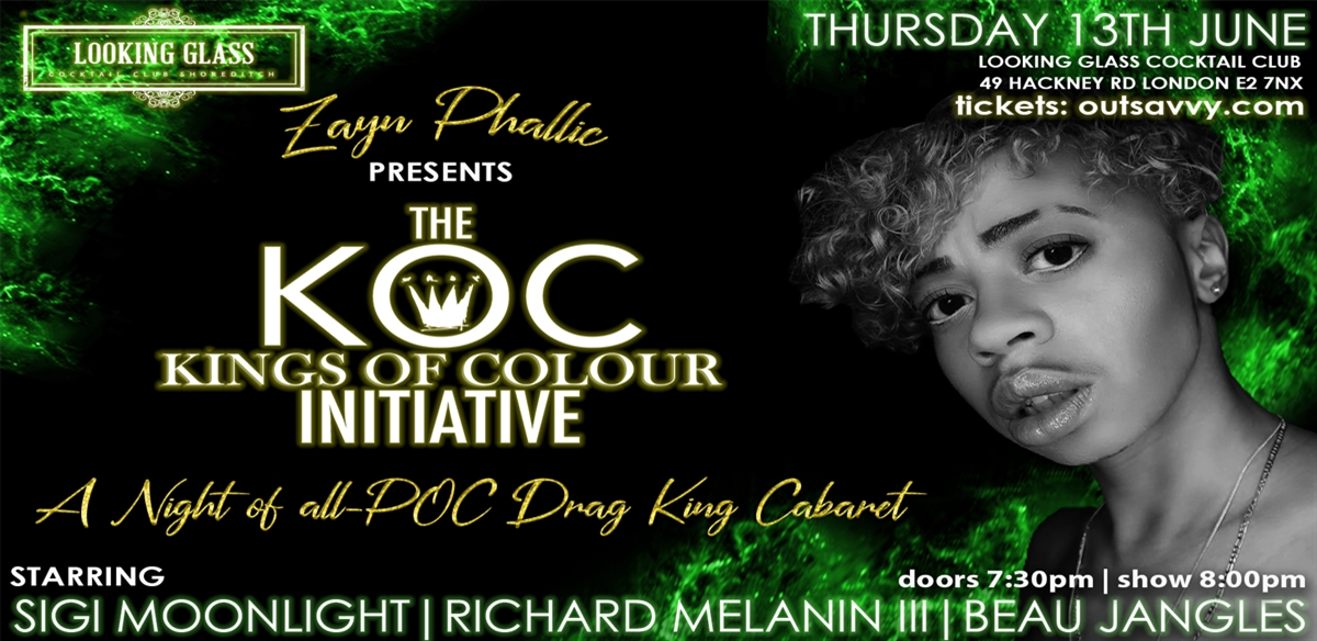 The KOC Initiative XI: Through the Looking Glass tickets