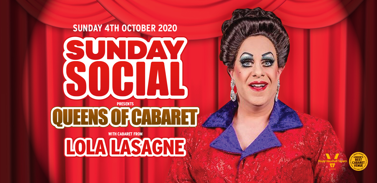 Sunday Social with Lola Lasagne  tickets