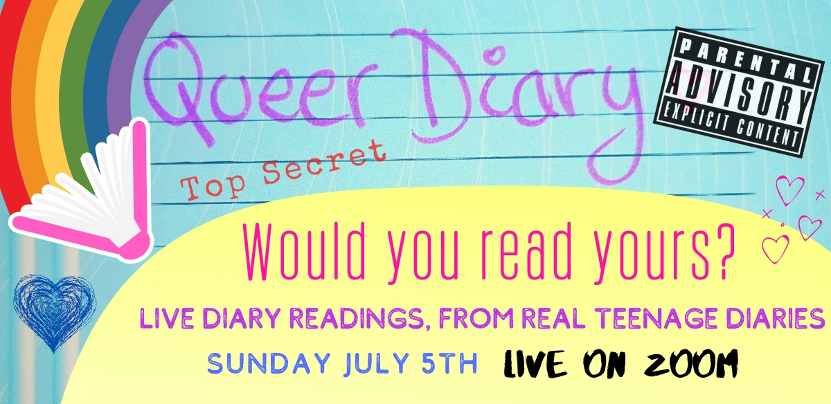 Queer Diary ONLINE July 2020 Edition tickets