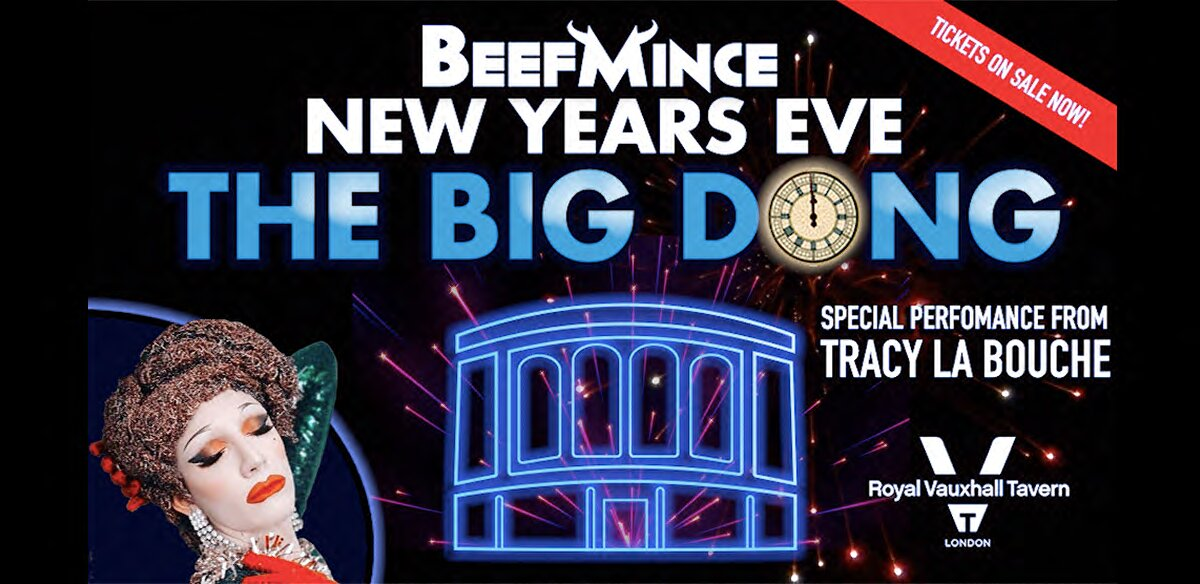 BEEFMINCE - New Year's Eve at the RVT - THE BIG DONG! tickets