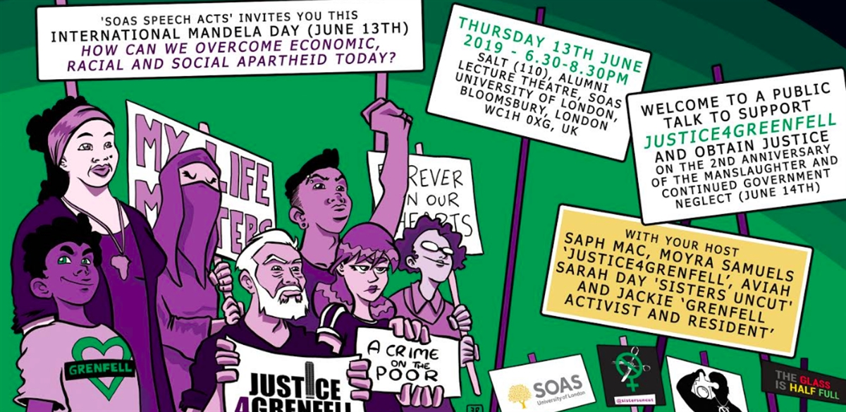 SOAS Speech Acts - Justice for Grenfell on the 2nd Anniversary tickets