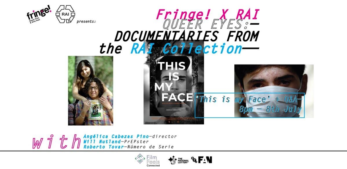 Fringe! x RAI : Queer Eyes – This is my Face Q&A tickets