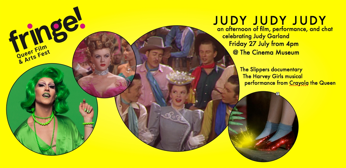 Judy Judy Judy Double Bill: The Slippers + The Harvey Girls with Crayola the Queen  tickets