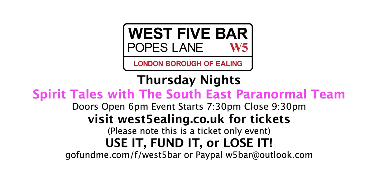 Spirit Tales - Paranormal Night tickets