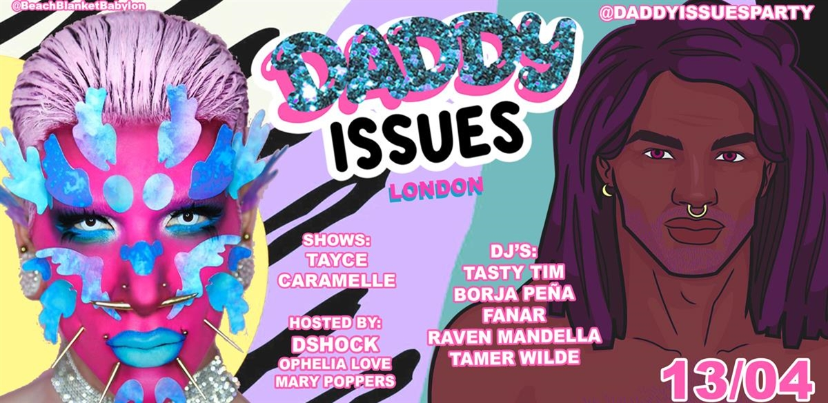 DADDY ISSUES With DSHOCK tickets