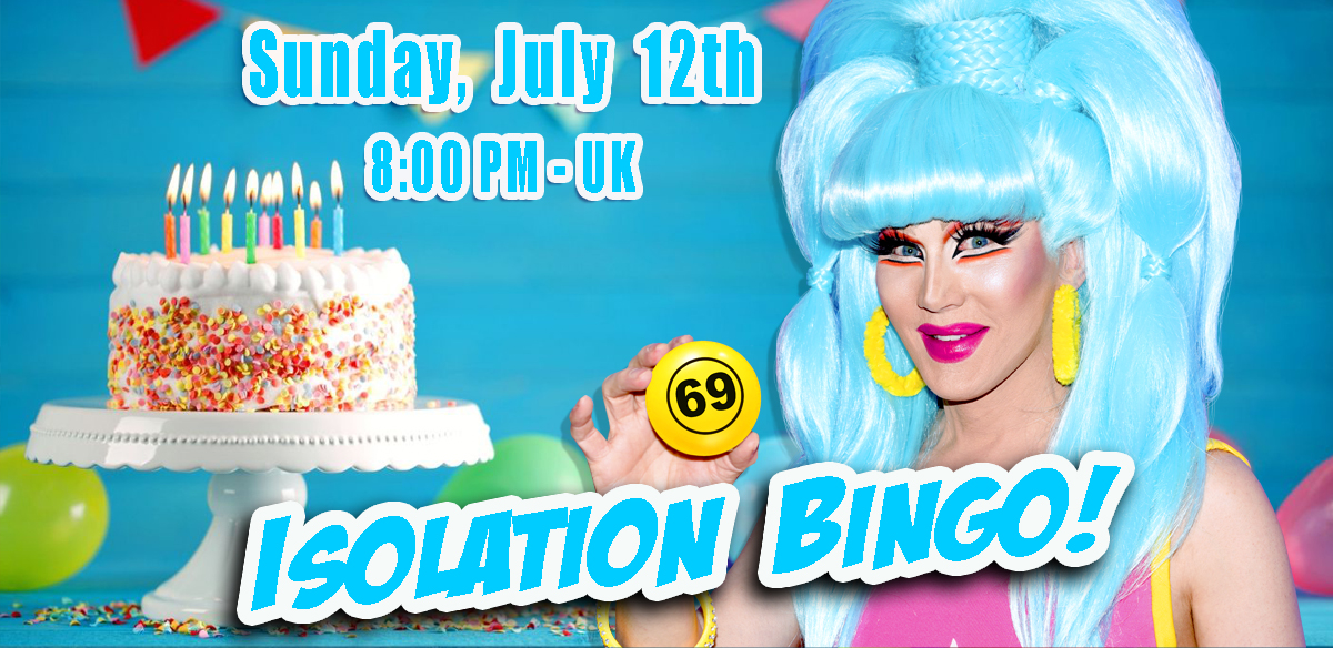 ISOLATION BINGO - LIVE From my living room tickets
