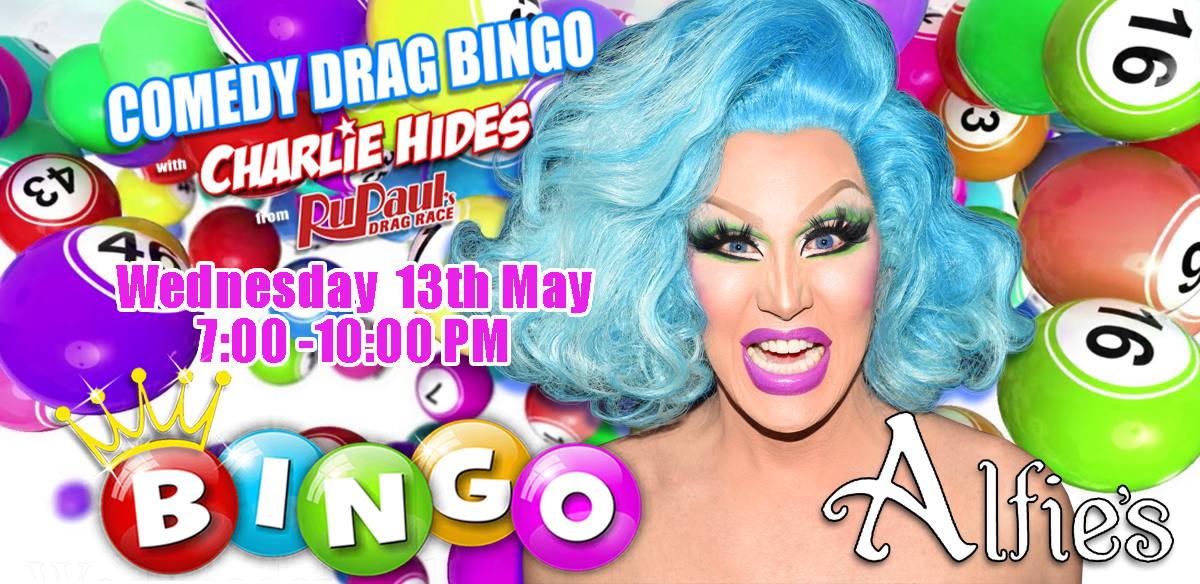 Drag Bingo with Charlie Hides - Winchester tickets