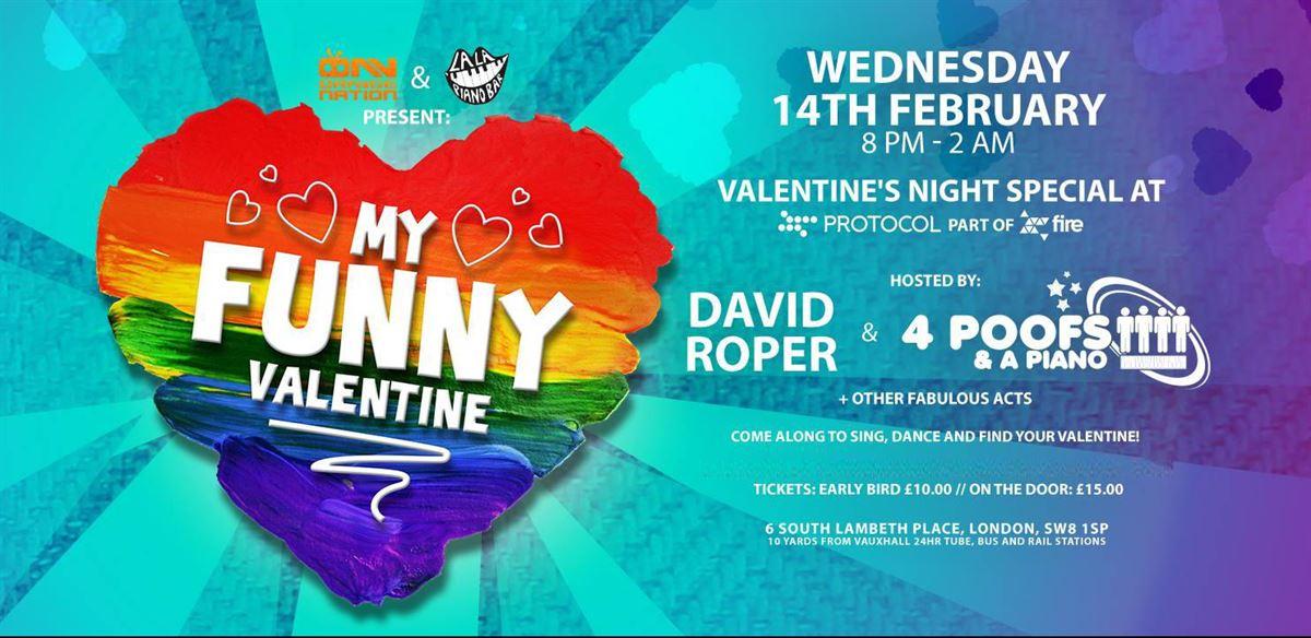 La La Piano Bar and Orange Nation present: My Funny Valentine