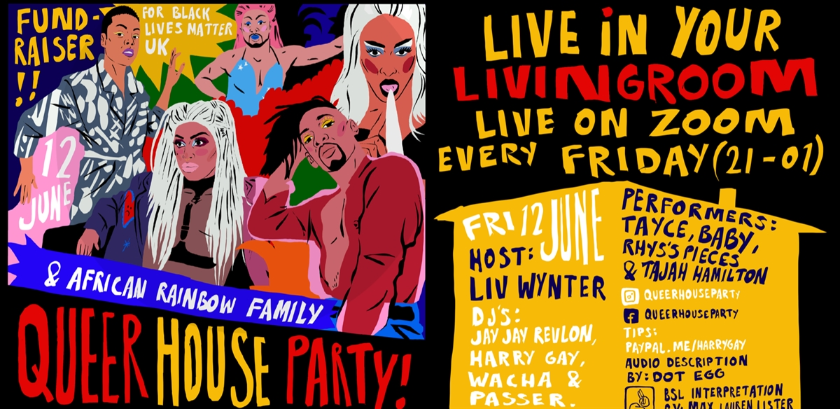 Queer House Party: in solidarity with ARF and BLMUK tickets