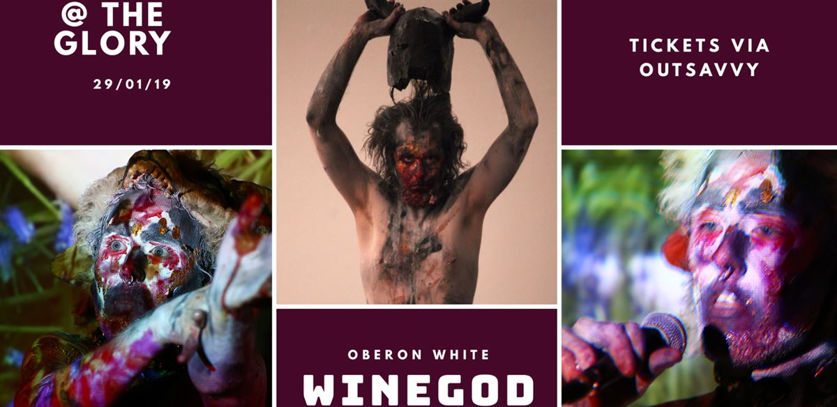 Oberon White: winegod - Premiere tickets