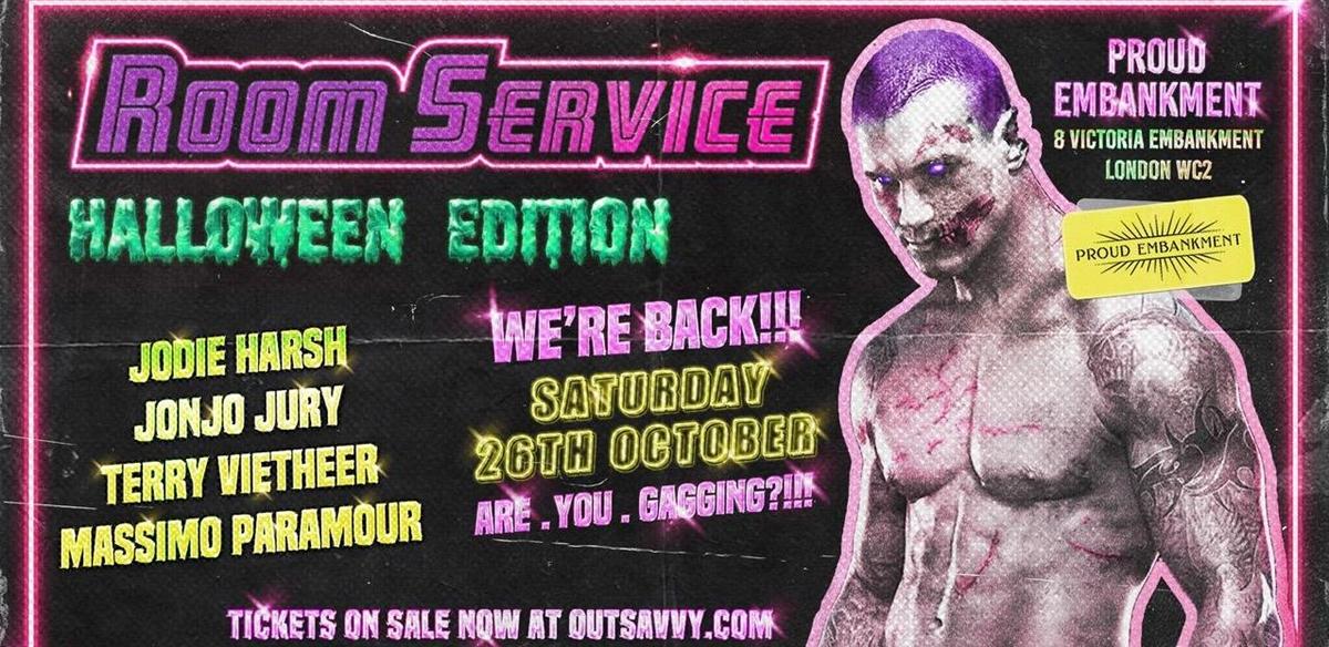 ROOM SERVICE - Halloween tickets