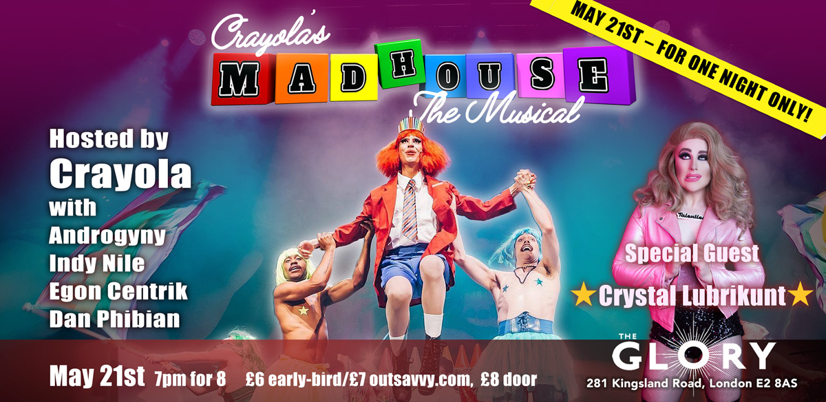 Crayola's Madhouse: The Musical! tickets