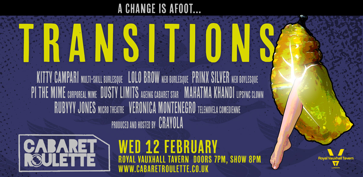 Cabaret Roulette: TRANSITIONS tickets