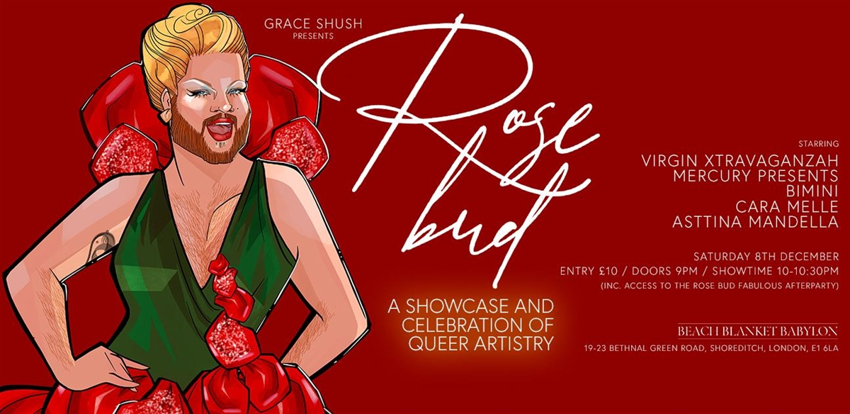 Grace Shush Presents: Rosebud the December edition  tickets