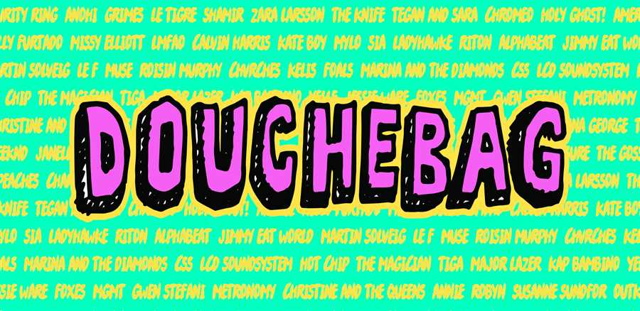 DOUCHEBAG + RONIKA ALBUM LAUNCH PARTY!