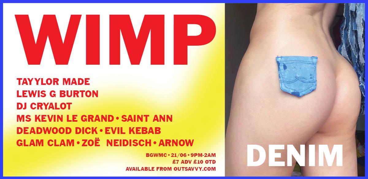 WIMP : DENIM tickets
