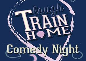 Laugh Train Home  logo