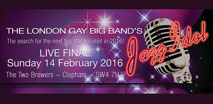 London Gay Big Band's Jazz Idol 2016 tickets
