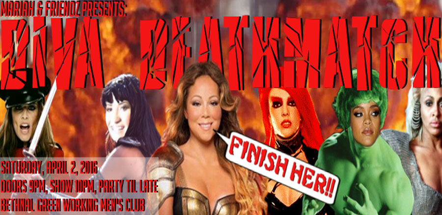 Mariah & Friendz: DIVA DEATHMATCH tickets
