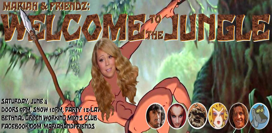 Mariah & Friendz: Welcome to the Jungle! tickets